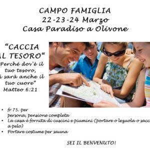 Campo Famiglia a Olivone